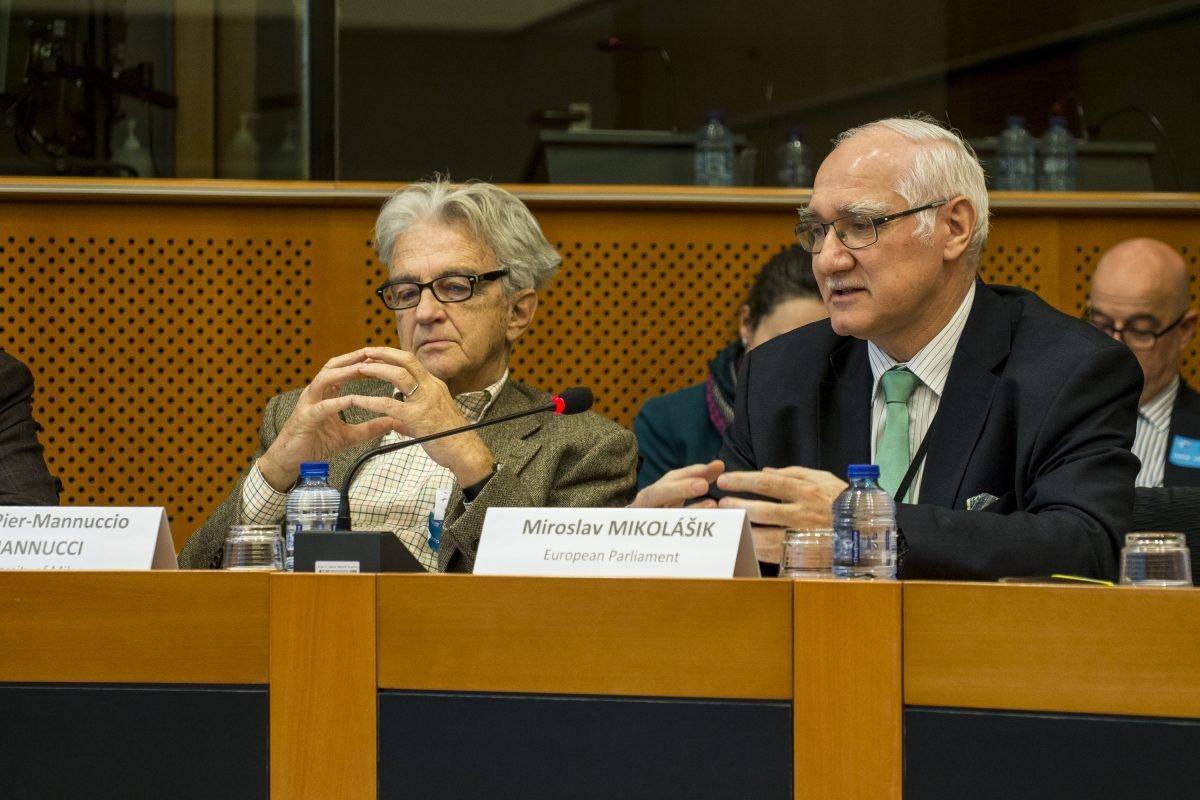MEP Miroslav Mikolášik welcome remarks